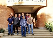 mining engineering student design team
