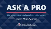 A title card from the video, describing the Ask A Pro series
